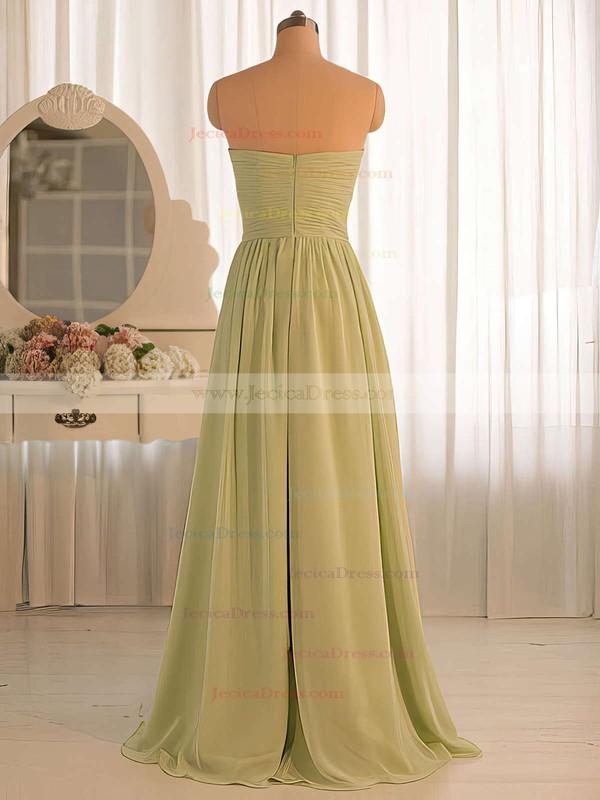 Floor-length Chiffon Ruffles For Cheap Sweetheart Bridesmaid Dresses #JCD01012412