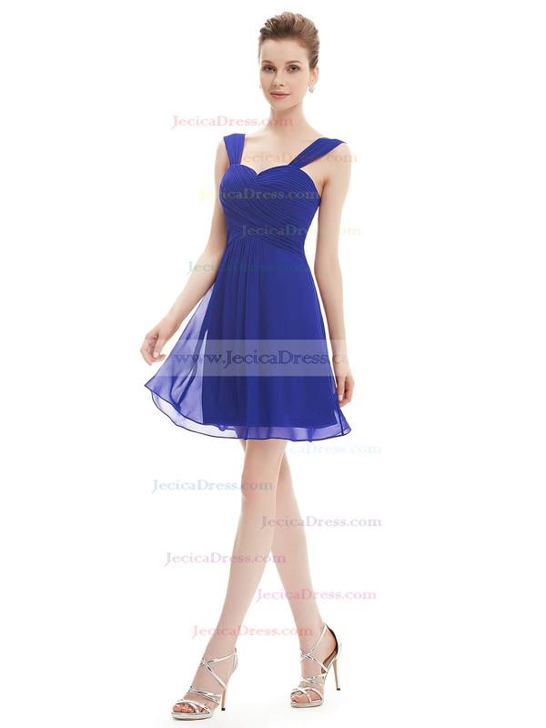 Short/Mini Sweetheart Chiffon with Ruffles Junior Bridesmaid Dresses #JCD01012724