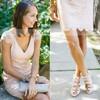 V-neck Elegant Lace Sashes / Ribbons Short/Mini Sheath/Column Bridesmaid Dresses #JCD01012752