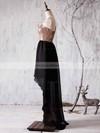 A-line One Shoulder Chiffon Sequined Asymmetrical Ruffles Boutique Bridesmaid Dress #JCD01012936