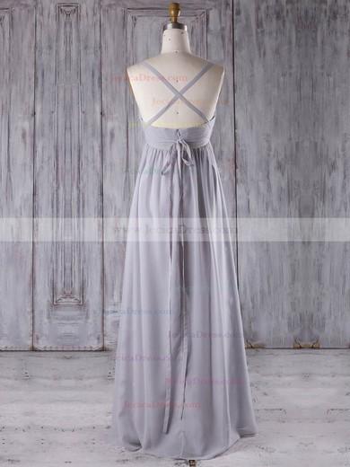 Chiffon Empire Sweetheart Floor-length with Sashes / Ribbons Bridesmaid Dresses #JCD01013277