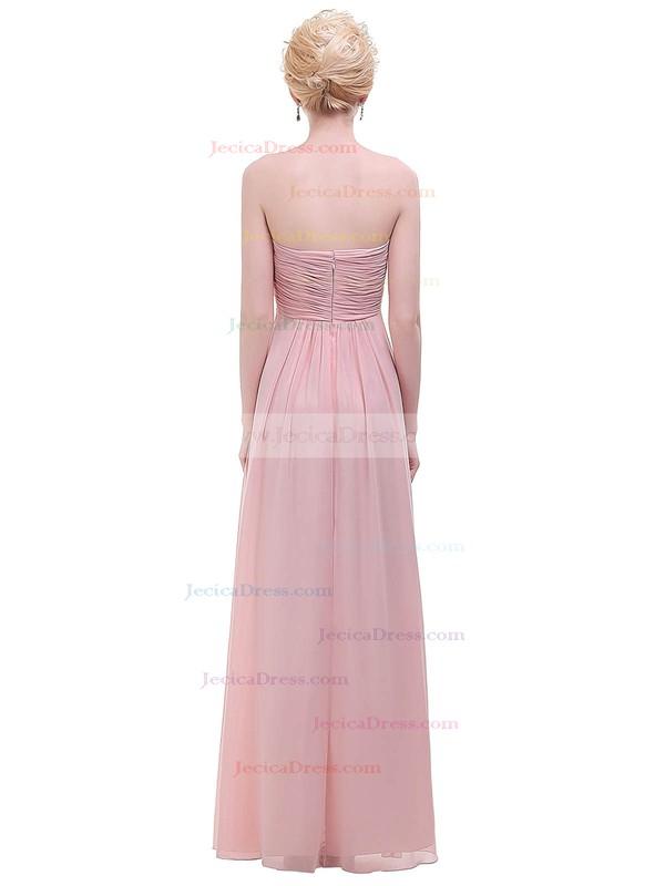 Chiffon Empire Sweetheart Floor-length with Ruffles Bridesmaid Dresses #JCD01013455