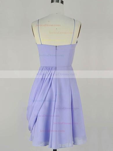 Chiffon A-line Sweetheart Short/Mini with Pleats Prom Dresses #JCD020104140