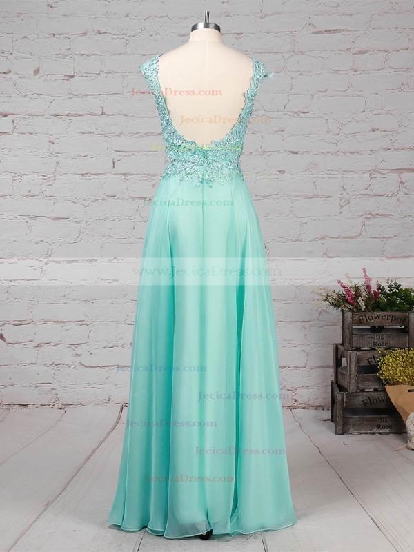 Silk-like Satin Trumpet/Mermaid Scoop Neck Sweep Train Beading Prom Dresses #JCD020101059